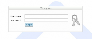 eGroupWare Clear Installed